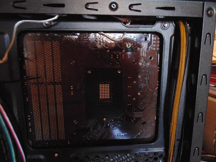 Zalman Z11 Plus CPU Cutout