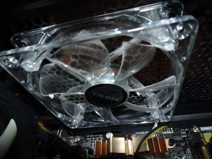 Zalman Z11 Plus Upper 120mm Exhaust Fan