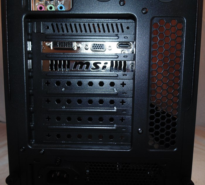 Zalman Z11 Plus PCI Expansion Ports