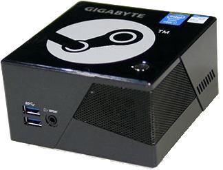 Steam Box construite avec un Brix Pro